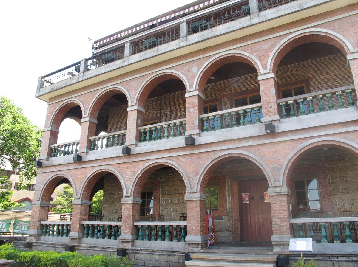 淡水紅樓主建築物入口