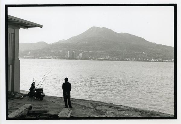 攝影作品-淡水河邊的早晨