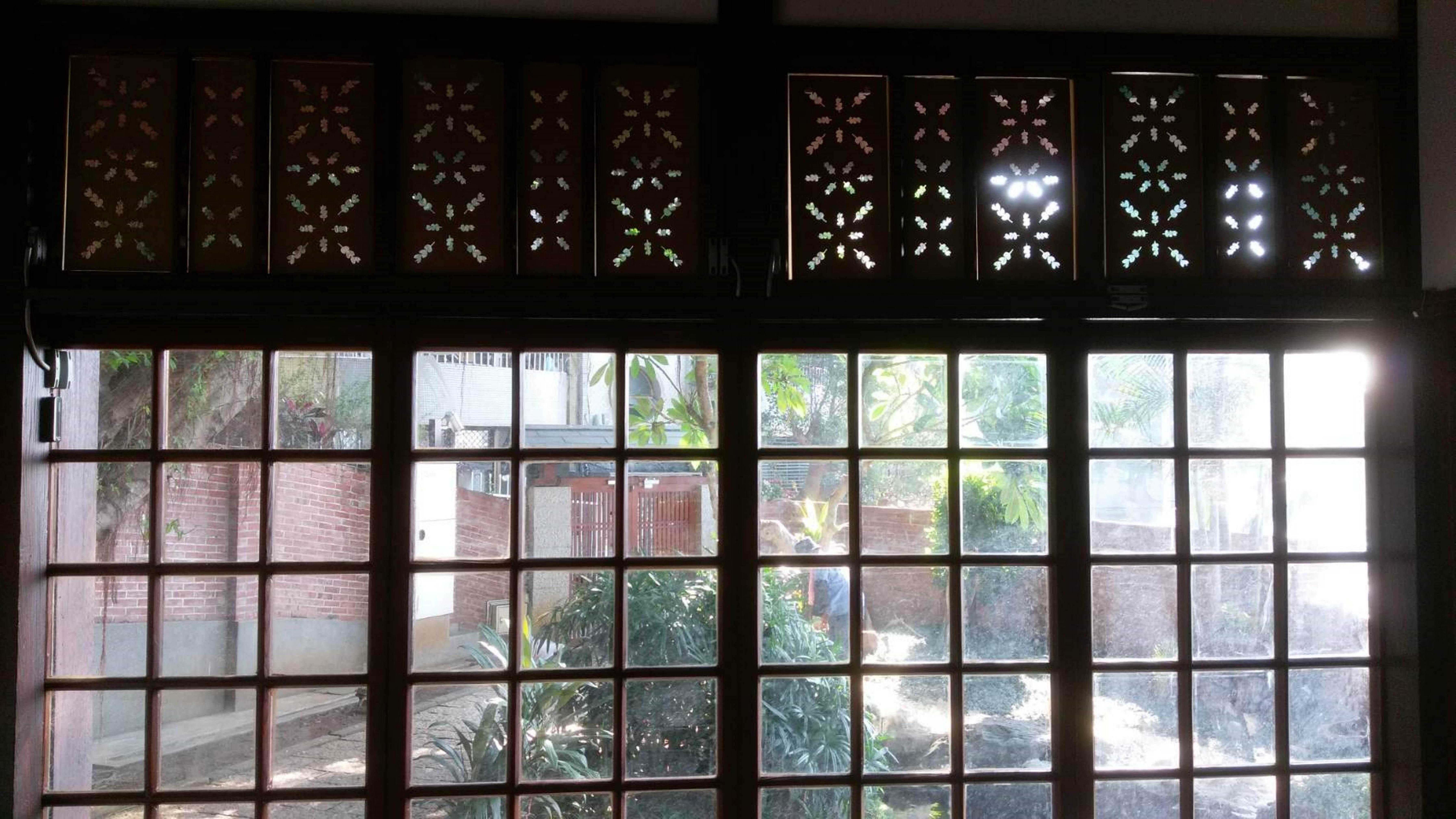 紙花窗-三明治工展覽作品
