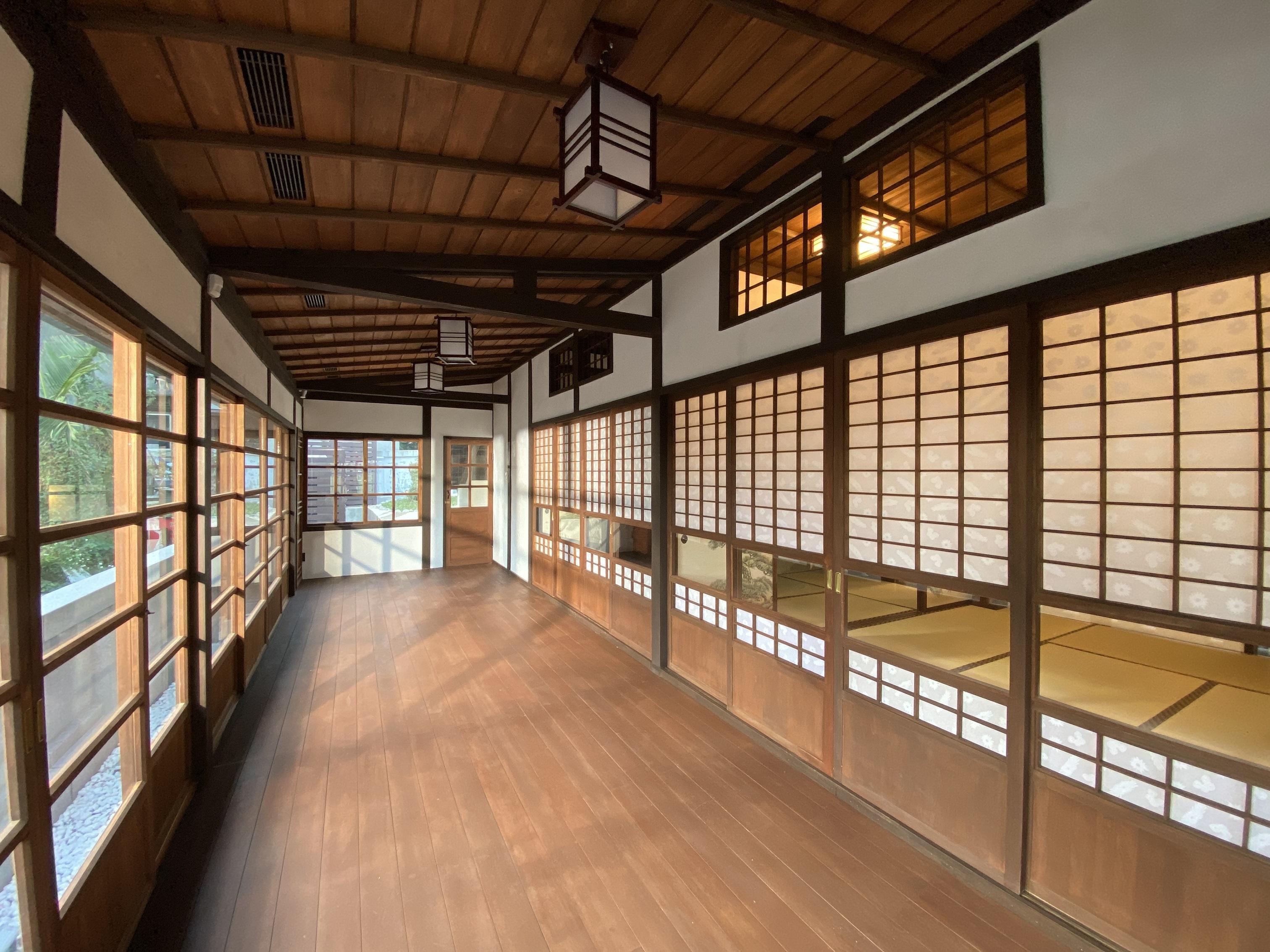 淡水日本警官宿舍室內圖