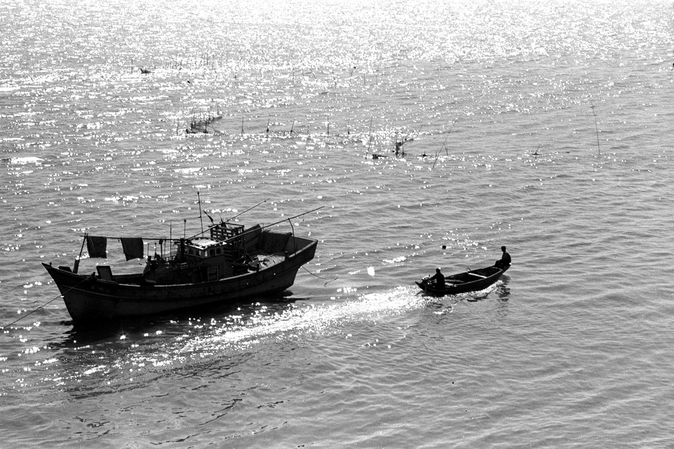 銀光灑滿淡江水 1969.3.30