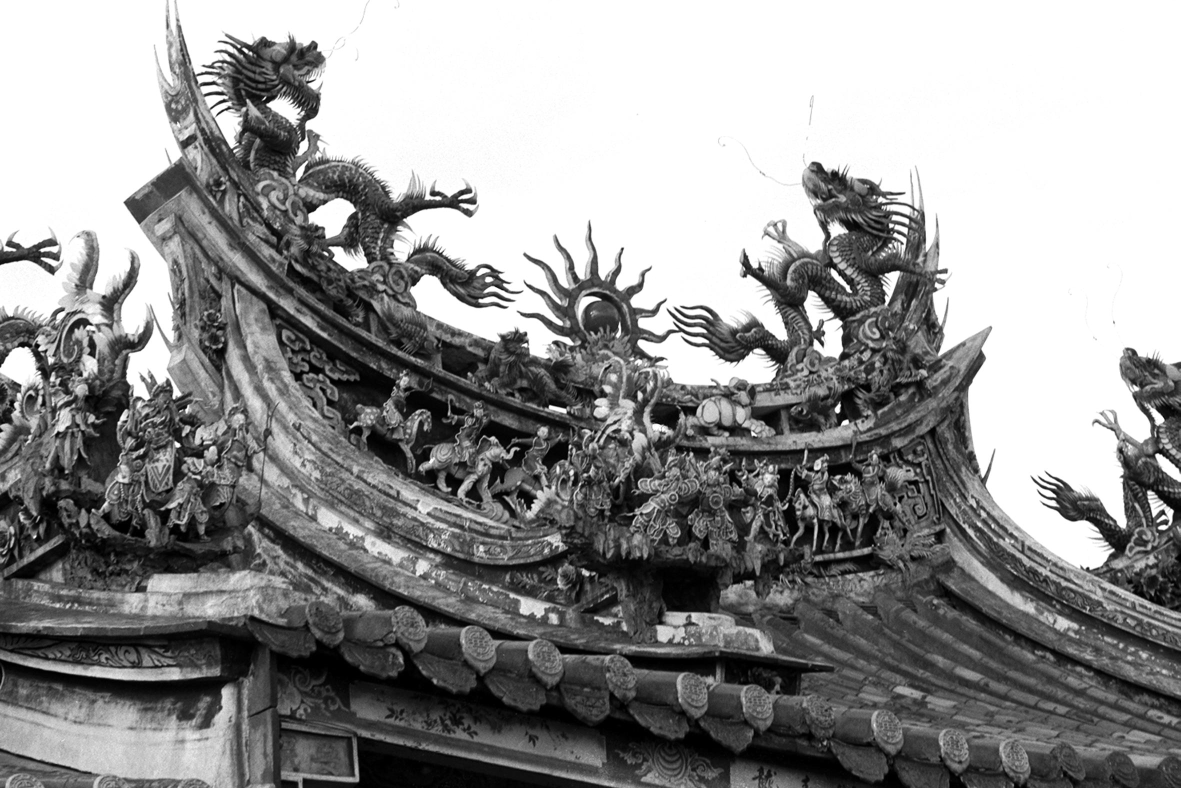 青龍飛舞祖師巖 1969.12