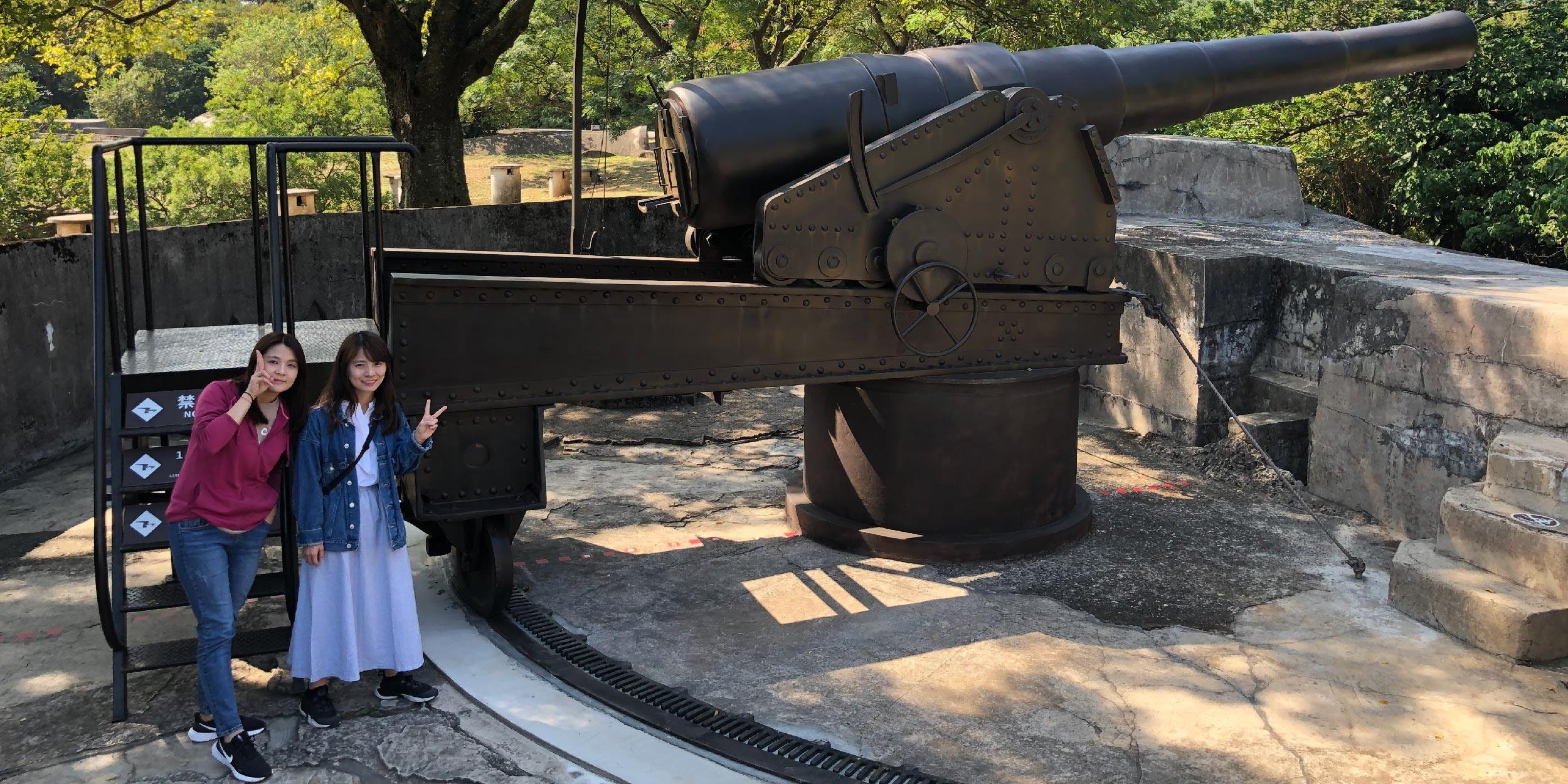 全臺保存最完整的礮臺 7米巨砲霸氣外露