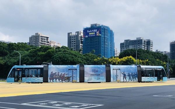 「清法戰爭紀念彩繪列車」將在10月10日國慶連假上路!