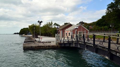 海關碼頭周邊景觀改善工程暫停開放公告