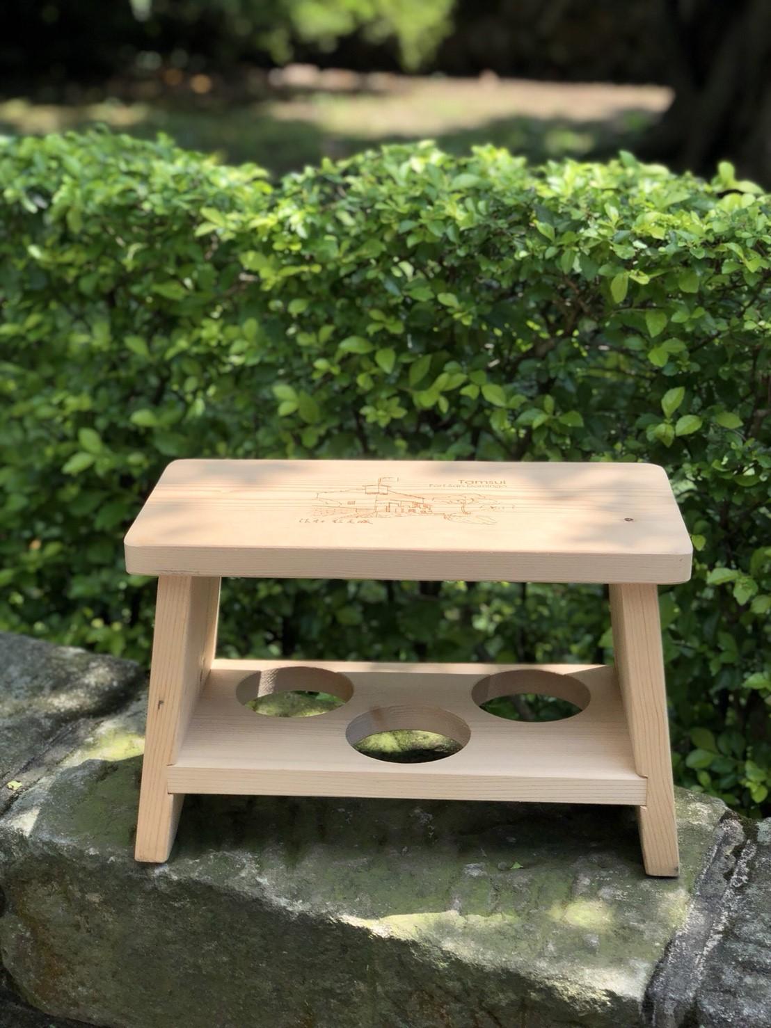 古蹟風情小板凳