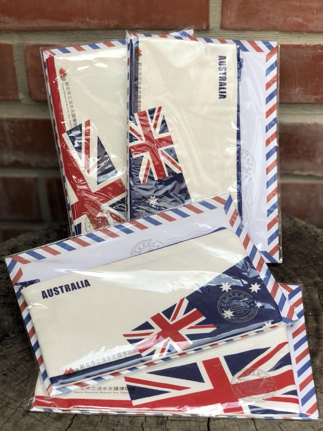 國旗棉質筆袋