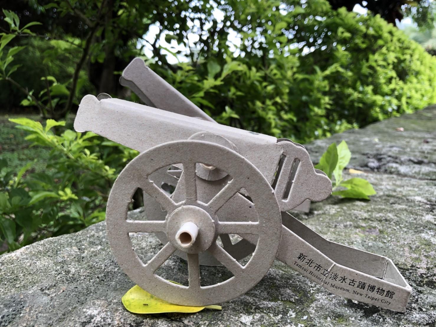 DIY大砲模型