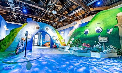 兒童互動展覽免費玩